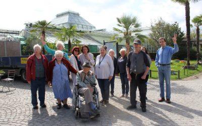 Ausflug in den Botanischen Garten