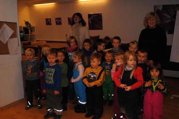 Besuch vom Kindergarten Wollomoos