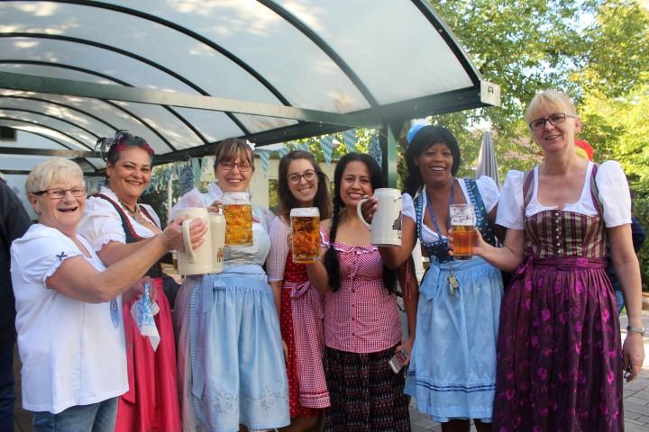Oktoberfest mit Gruseleinlage